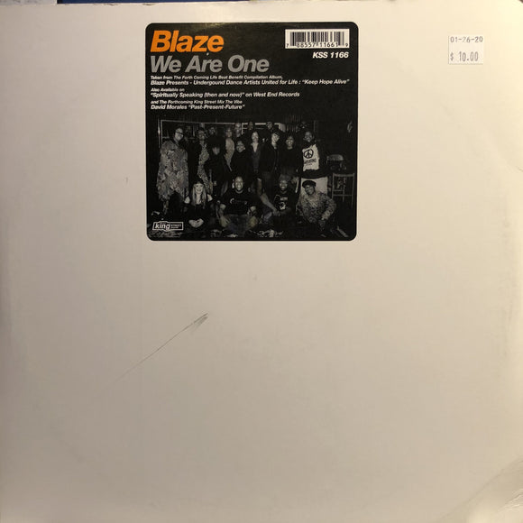 BLAZE - WE ARE ONE 12