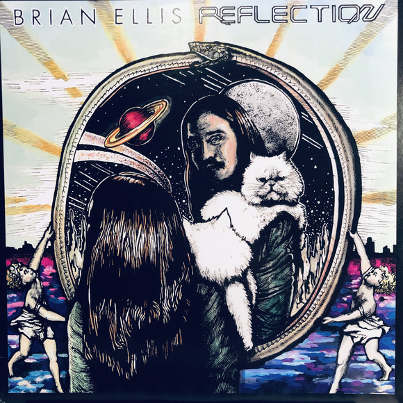 BRIAN ELLIS - REFLECTION LP (VOLTAIRE RECORDS)