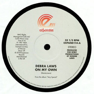 "DEBRA LAWS - ON MY OWN & VERY SPECIAL 12"" (EXPANSION)"