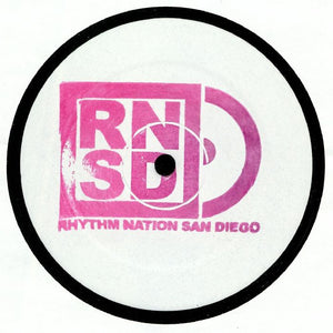 "SOL ORTEGA - THE BLUE CLUB EP 12"" (RHYTHM NATION)"