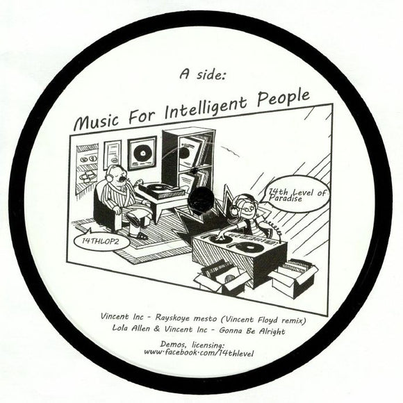 VINCENT INC. - MUSIC FOR INTELLIGENT PEOPLE 12