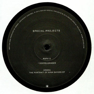 "HEMKA - THE PORTRAIT OF NINA SAYERS EP 12"" (REKIDS)"