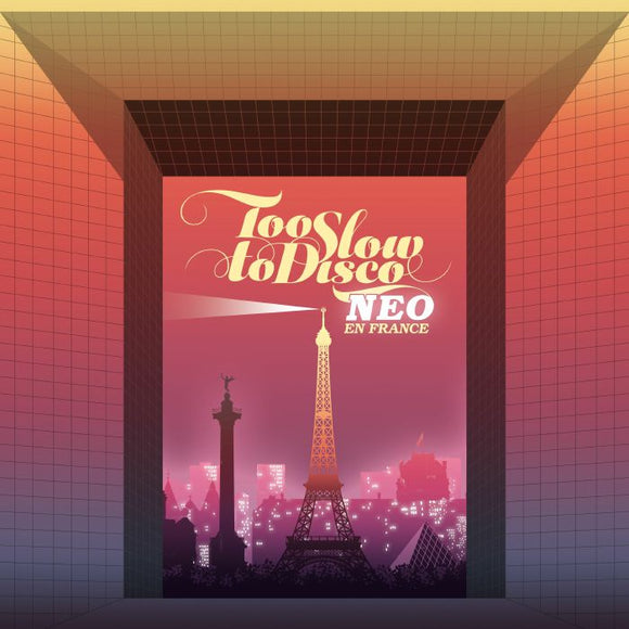 VARIOUS - TOO SLOW TO DISCO NEO - EN FRANCE 2LP (HOW DO YOU ARE?)