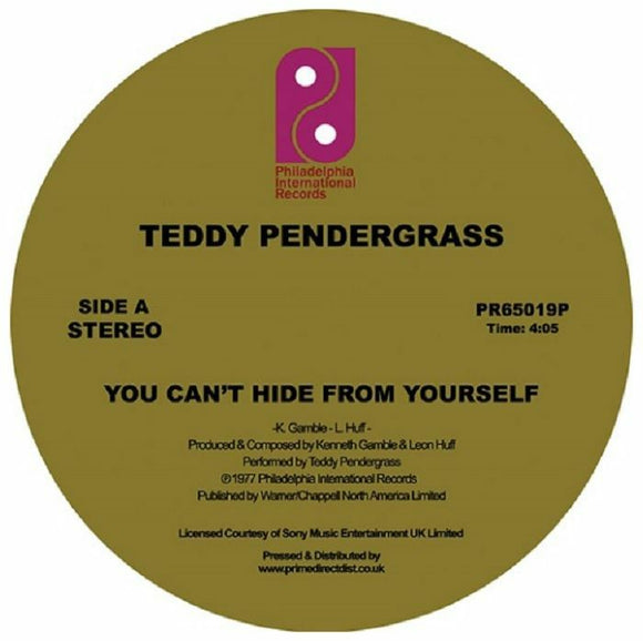 TEDDY PENDERGRASS - YOU CAN'T HIDE FROM YOURSELF 12