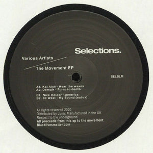 "VARIOUS - THE MOVEMENT EP 12"" (SELECTIONS)"