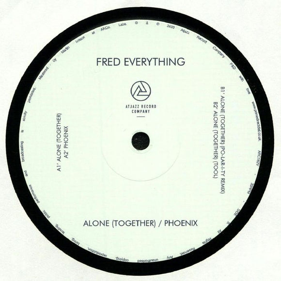FRED EVERYTHING - ALONE (TOGETHER) 12