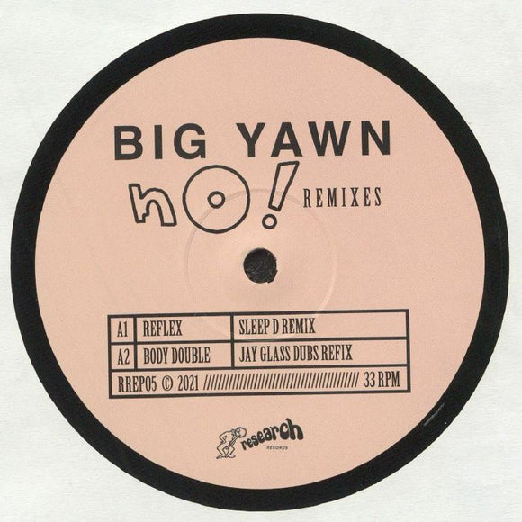 BIG YAWN - NO! REMIXES EP 12
