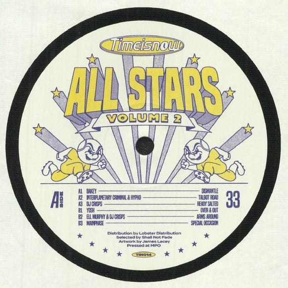VARIOUS - TIME IS NOW ALLSTARS VOL 2 12