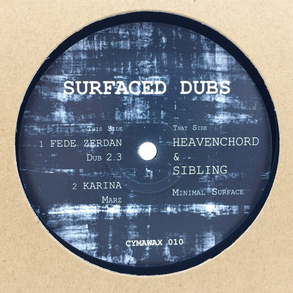 VARIOUS - SURFACED DUBS 12