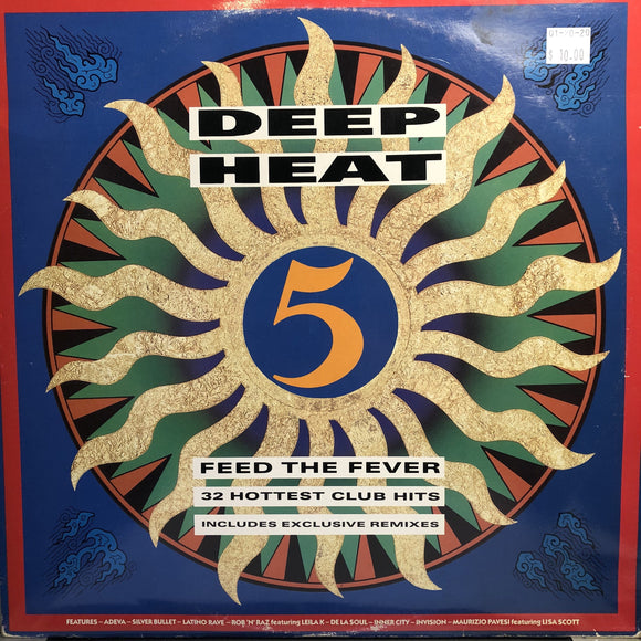 VARIOUS - DEEP HEAT 5 2LP (TELSTAR)