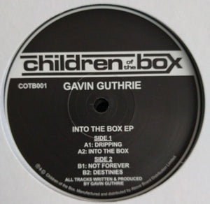 "GAVIN GUTHRIE - INTO THE BOX EP 12"" (CHILDREN OF THE BOX)"