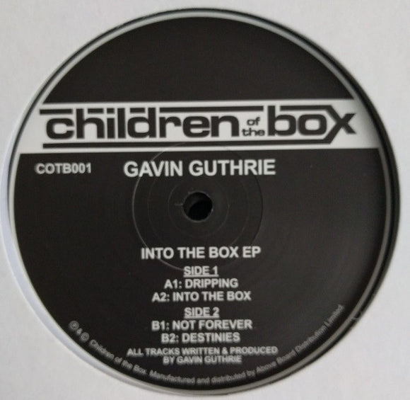 GAVIN GUTHRIE - INTO THE BOX EP 12