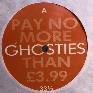 "GHOSTIES - THERE'S A GHOST IN MY HOUSE 12"" (D-ZONE RECORDS)"