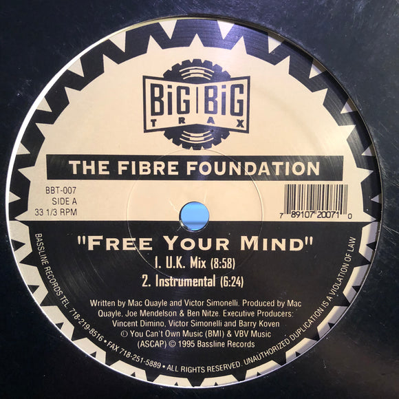 FIBRE FOUNDATION - FREE YOUR MIND 12