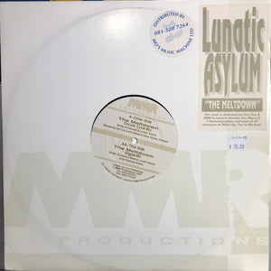 "LUNATIC ASYLUM - THE MELTDOWN 12"" (MMR PRODUCTIONS)"