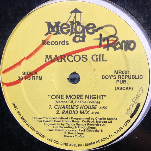 MARCOS GIL - ONE MORE NIGHT 12