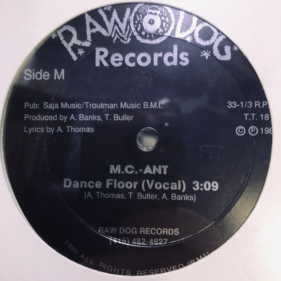 MC ANT - DANCE FLOOR 12