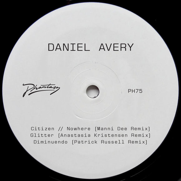 DANIEL AVERY - SONG FOR ALPHA RMXS PT1 12