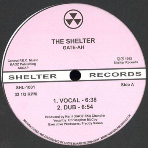 GATE-AH (KERRI CHANDLER) - THE SHELTER 12