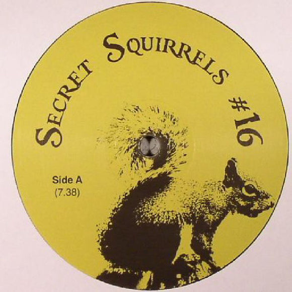 SECRET SQUIRREL - NO 16 12