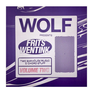 "FRITS WENTINK - TWO BAR HOUSE MUSIC V2 12"" (WOLF MUSIC)"