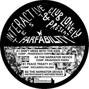 "FRANCESCO FARFA - FARFABILITY 12"" (CLUB LONELY)"