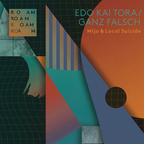 "MIJO & LOCAL SUICIDE - EDO KAI TORA 12"" (ROAM)"