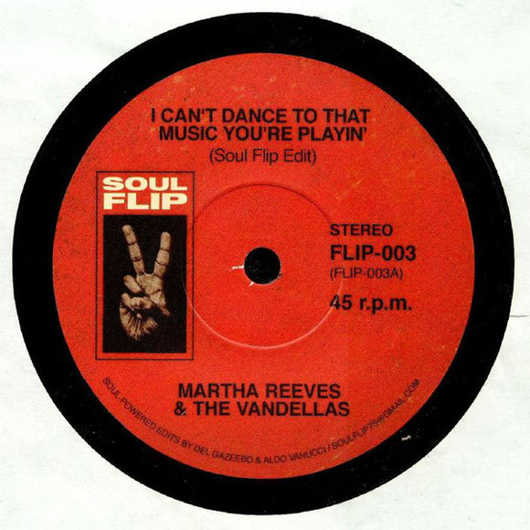M REEVES - I CAN'T DANCE SOUL FLIP RMX 7