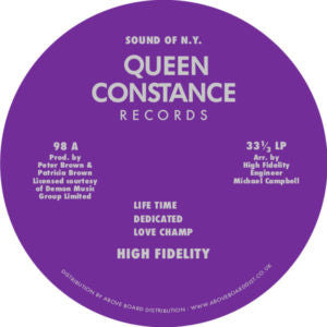 HIGH FIDELITY - HIGH FIDELITY LP (QUEEN CONSTANCE)