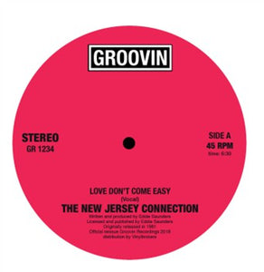 "NEW JERSEY CONNECTION - LOVE DON'T...12"" (GROOVIN)"