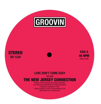 NEW JERSEY CONNECTION - LOVE DON'T...12