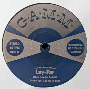 "LAY-FAR - EVEN MORE SECRET WEAPONS 12"" (GAMM)"