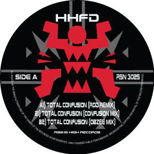 "HHFD - TOTAL CONFUSION (2018 REMIXES) 12"" (RISING HIGH)"