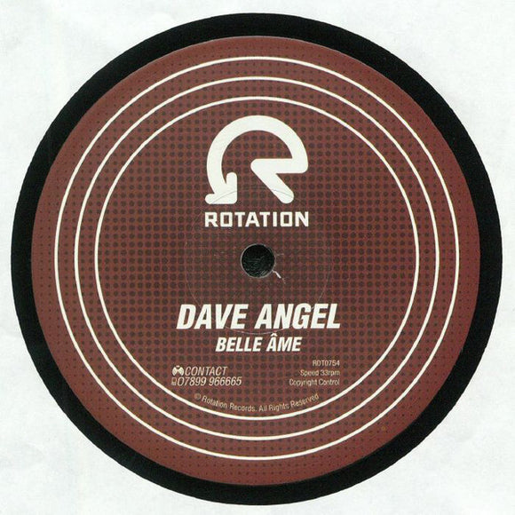 DAVE ANGEL - BELLE AME 12