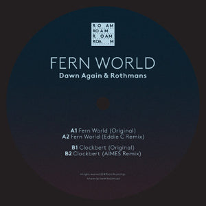 "DAWN AGAIN & ROTHMANS - FERN WORLD 12"" (ROAM)"
