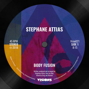 "STEPHANE ATTIAS - BODY FUSION-SUNSET 12"" (VISIONS INC)"
