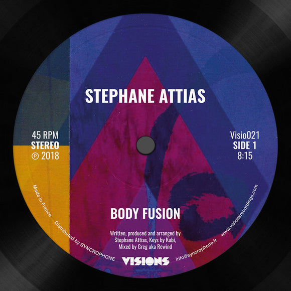 STEPHANE ATTIAS - BODY FUSION-SUNSET 12