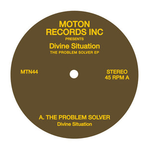 "DIVINE SITUATION - THE PROBLEM SOLVER 12"" (MOTON)"