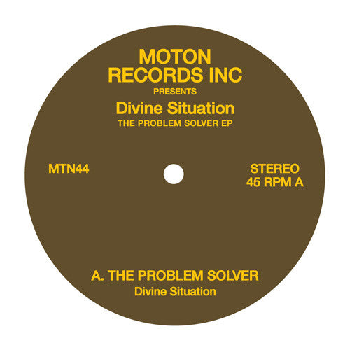 DIVINE SITUATION - THE PROBLEM SOLVER 12