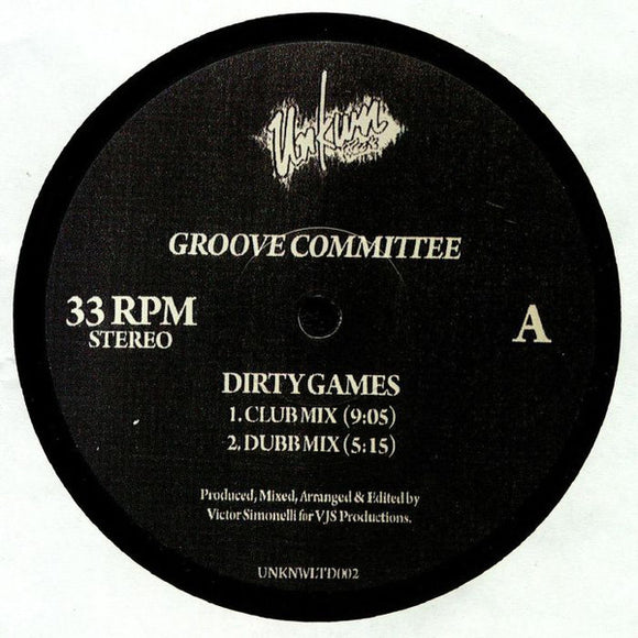 GROOVE COMMITTEE - DIRTY GAMES 12