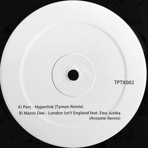 "PERC - HYPERLINK (TYMON REMIX) 12"" (PERC TRAX)"