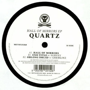 "QUARTZ - HALL OF MIRRORS EP 12"" (METALHEADZ)"