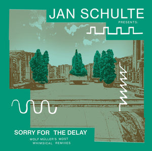 JAN SCHULTE PRESENTS - SORRY FOR THE DELAY: WOLF MÜLLER'S MOST WHIMSICAL REMIXES 2LP (SAFE TRIP)