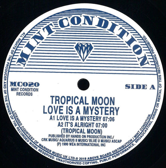 TROPICAL MOON - LOVE IS A MYSTERY 12
