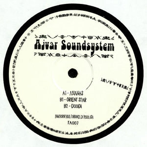 "AJVAR SOUNDSYSTEM - ANANAS 12"" (TAKE AWAY)"