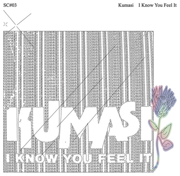 KUMASI - I KNOW YOU FEEL IT 2LP (SMILING C)