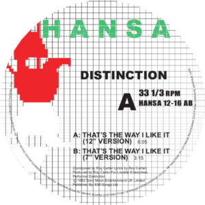 DISTINCTION - THAT'S THE WAY I LIKE IT 12