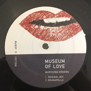 "MUSEUM OF LOVE - MARCHING ORDERS 12"" (MUSEUM OF LOVE)"