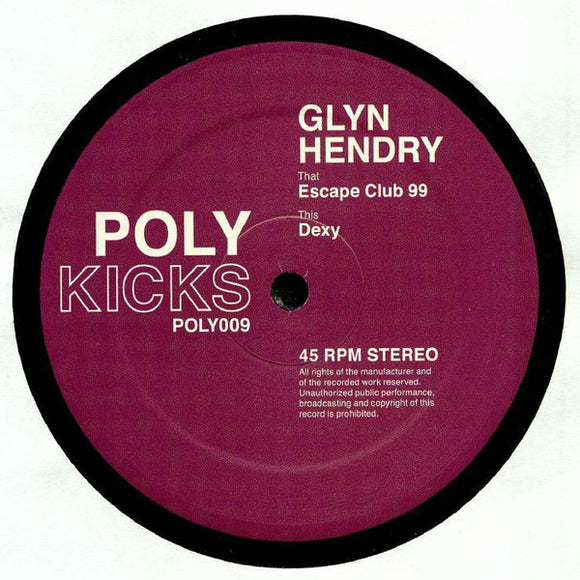 GLYN HENDRY - ESCAPE CLUB 99 12