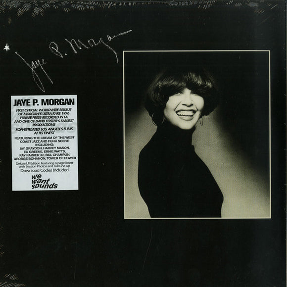 JAYE P. MORGAN - JAYE P. MORGAN LP (WEWANTSOUNDS)